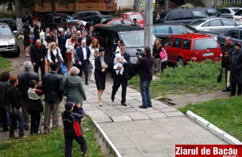 Foto&Video: Ionut Iftimoaie si-a botezat fiul la Slanic Moldova