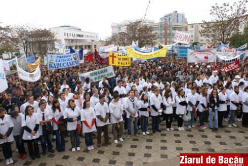 Foto: Ziua Tineretului la Bacau