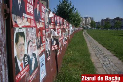 "Foto: ""Afisiada"" electorala"