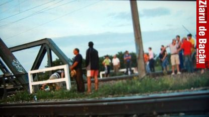 Trei copii loviti de tren