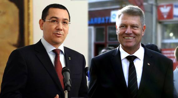 Victor Ponta si Klaus Iohannis - alegeri prezidențiale turul II