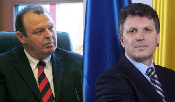 Deputații Lucian Șova și Iulian Iancu