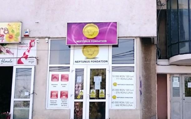 Neptunus Fondation, sediul din Bacau