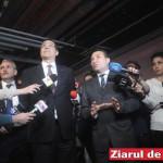 Victor Ponta si Romeo Stavarache (arhiva 29 aprilie 2014)