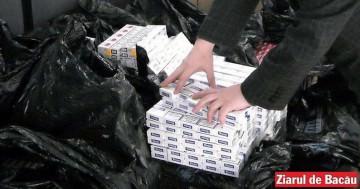 Prins cu 2000 de pachete de țigări de contrabandă