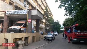 Ameninţare cu bombă la Spitalul Judeţean de Urgență Bacău