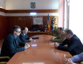 Însărcinatul cu afaceri al Republicii Belarus a vizitat Bacăul