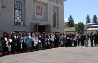 Biserica a premiat excelența în învățământul preuniversitar băcăuan