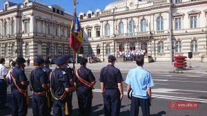 FOTO VIDEO Ziua Imnului Naţional al României a fost marcată şi în Bacău