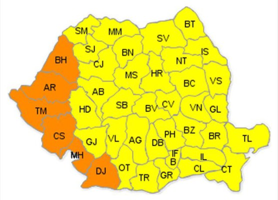 Harta: mediafax.ro