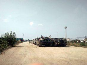 VIDEO FOTO Tancurile din Gara Bacău intrigă trecătorii UPDATE