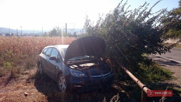 VIDEO FOTO Circulație deviată pe DN 11, la ieșirea din Bacău, din cauza unui accident