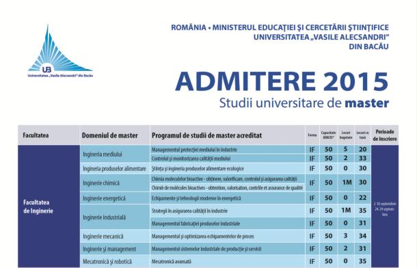 studii master 1