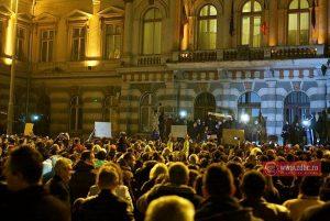 Protest faţă de modificările legilor justiţiei, anunţat pentru diseară în Bacău