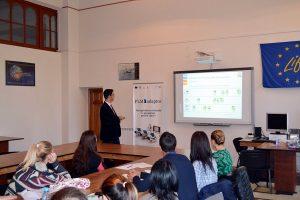 """Delegaţie de profesori de la Universitatea din Cadiz, Spania, în vizită la Universitatea """"Vasile Alecsandri"""" din Bacău"""