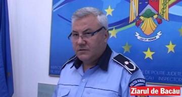 inspectorul şef al Inspectoratului de Poliţie Judeţean Bacău