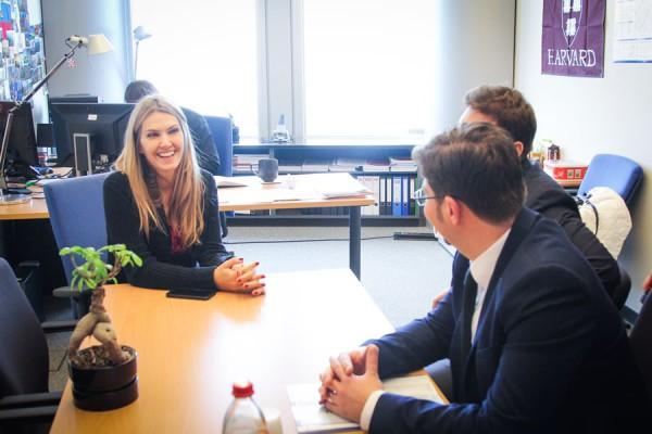 Intâlnirea cu europarlamentarul din Grecia Eva Kaili