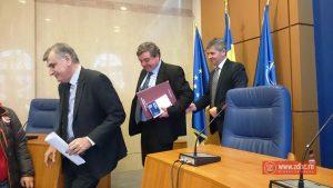 Ioan Ghica, noul prefect, adus la jurământ de candidatul PMP la Primăria Bacău