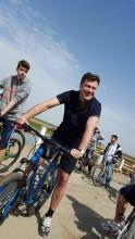 Dragos Luchian bicicleta