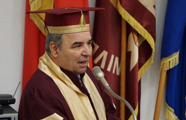 Neculai Lupu, rectorul UGB