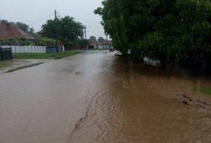 UPDATE! Inundații în Bacău. Autoritățile au intervenit în Slănic Moldova, Bogdănești, Oituz și Mănăstirea Cașin
