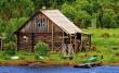 Ignifugare casa din lemn