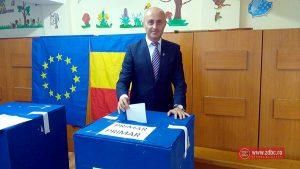 Cristinel Manolache a votat la ora 14:45. Ce a declarat candidatul PSRo
