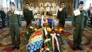 Înmormântarea lui Voicu Șocae, copilotul elicopterului SMURD prăbușit în Republica Moldova FOTO