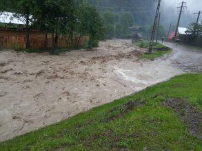 Situația hidrologică din județ – Riscul inundațiilor a trecut, au fost anulate codurile portocaliu și roșu