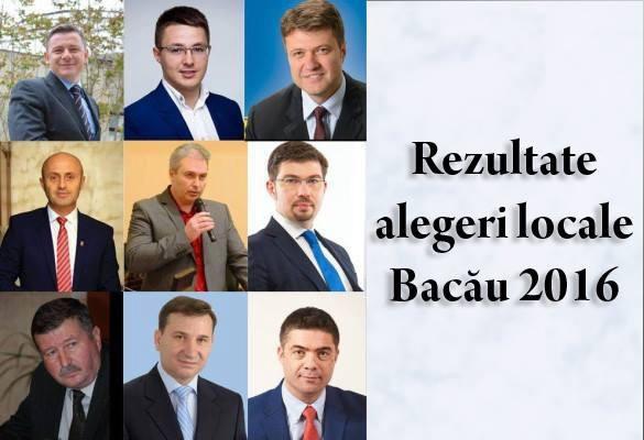 rezultate alegeri locale Bacau 2016