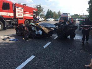 Accident grav la Bogdan Vodă, lângă Bacău UPDATE