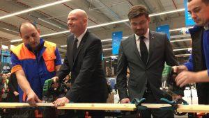 VIDEO-FOTO A fost inaugurat Dedeman 2 Bacău – Cum arată magazinul cu 1.000 de tiruri de marfă pe rafturi