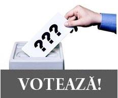 SONDAJ – Mergeți la VOT? Cu cine VOTAȚI?