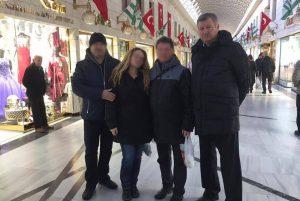 În plin cod galben de ninsori, viceprimarul Scripăț face shopping la mall, în Turcia