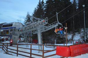 Pârtia de schi Nemira, de la Slănic Moldova, se închide pentru o nouă revizie UPDATE