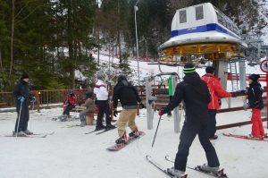 S-a închis pârtia de schi Nemira, de la Slănic Moldova