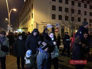FOTO-VIDEO! Noi proteste în Bacău împotriva grațierii și amnistiei