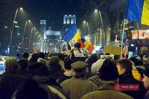 Băcăuanii au protestat în număr mare și sâmbătă, în centrul orașului