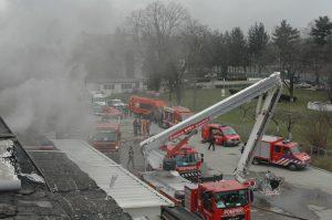 Agricola Bacău a înregistrat pagube de 100 de mii de euro în urma incendiului de ieri. Cauza a fost un scurtcircuit la instalația electrică