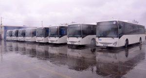 Opt autobuze cu motoare Euro 6, pe traseele de transport în comun din Bacău
