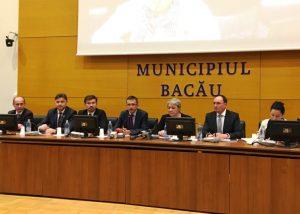 Vicepremierul Sevil Shhaideh a promis bani pentru rezerva de apă a Bacăului. Primarii din județ au 300 de proiecte de investiții prin PNDL II