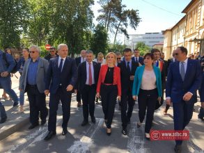 GALERIE FOTO – A fost inaugurat Compartimentul de Radioterapie din cadrul SJU Bacău