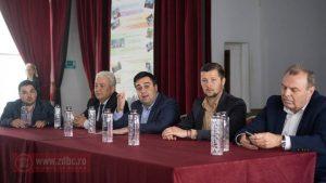 FOTO – Ministrul Transporturilor promite să-l sprijine pe Paul Claudiu Cotîrleț, pentru proiectele Moineștiului