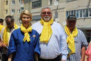 FOTO – Raluca Turcan, președintele PNL, a ascultat păsurile moineștenilor