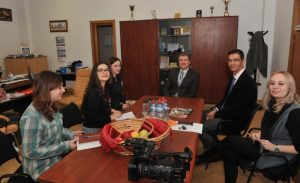 "Profesori de la Universitatea din Cadiz, Spania, în stagiu de predare la Universitatea ""Vasile Alecsandri"" din Bacău"