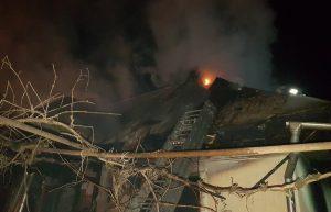 Incendiu în comuna Gârleni. Un bătrân de 85 de ani a fost găsit carbonizat