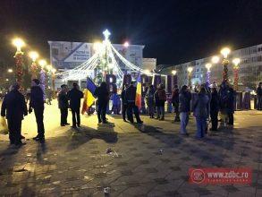 FOTO: USR și PNL au lipsit de la protestul antiguvernamental din Bacău – UPDATE