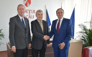 Ambasadorul Republicii Belarus a fost în vizită la Consiliul Județean. Andrei Grinkevich se află pentru a cincea oară în județul Bacău