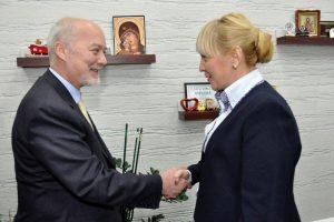 Ambasadorul Italiei, întâlniri în Bacău cu prefectul Maricica Coșa și primarul Cosmin Necula