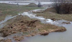 FOTO: Cum arată locul unde s-a produs avaria care a lăsat Bacăul fără apă